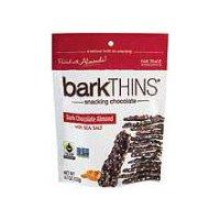 Bark Thins Bark Thins Fair Trade Almond & Sea Salt Dark Chocolate, 4.7 Ounce
