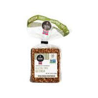 This is a delicious gluten free crispbread with sunflower seeds and quinoa. Perfect for a healthy breakfast or snack.