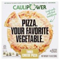 CAULIPOWER Three Cheese Cauliflower Pizza, 11.6 Ounce