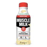 Muscle Milk Genuine Banana Creme Non Dairy Protein Shake, 14 Fluid ounce