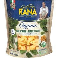 Rana Organic Baby Spinach & Roasted Garlic Tortelloni, 9 Ounce