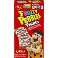 Post Treats Marshmallow Cereal Bars - 8 Pack, 6.2 Ounce