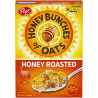 Honey Bunches of Oats Honey Roasted Cereal, 14.5 Ounce