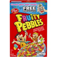Fruity Pebbles Sweetened Rice Cereal, 11 Ounce