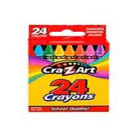 Cra-Z-Art Crayons, 24 Each