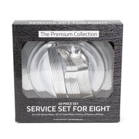 The Premium Collection Service for Eight - Dinner Table Set, 40 Each