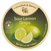 Cavendish Cavendish Fruit Tin Lemon, 5.3 Ounce