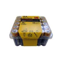 Kodak Max Super Alkaline AA Batteries, 30 Each