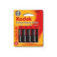 Kodak Extra Heavy Duty AA Batteries, 4 Each