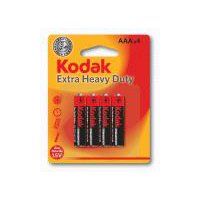 Kodak Extra Heavy Duty Batteries - AAA, 4 Each
