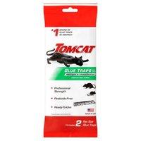 Tomcat Rat Glue Trap with Eugenol, 2 Each
