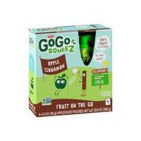 GoGo Squeez Applesauce, Apple Cinnamon, 4 Pack, 12.7 Ounce