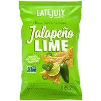 Late July Tortilla Jalapeno Lime Classico, 5.5 Ounce