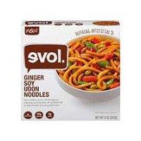 Evol Ginger Soy Udon Noodles Frozen Dinner, 255 Gram