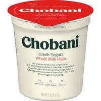 Chobani Chobani 4% Plain Yogurt, 32 Ounce