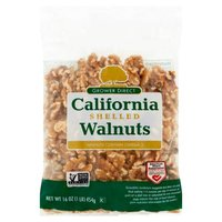 Fresh Shelled Walnuts, 1 Pound
