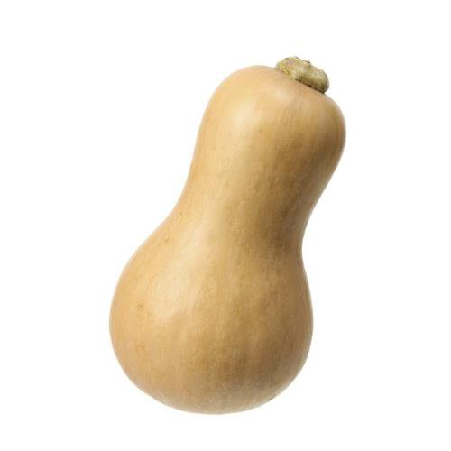 Tan-yellow squash that has a sweet, nutty taste to it similar to a pumpkin.