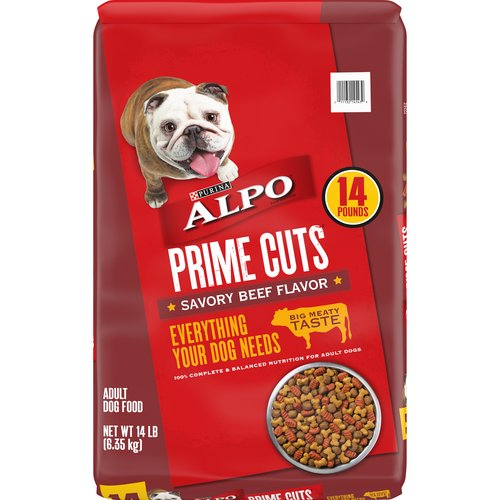 14.00 lb. 100% Complete & Balanced Nutrition for Adult Dogs. With high-quality protein & 23 vitamins and minerals-including calcium to help support strong bones and linoleic acid to help support healthy skin &