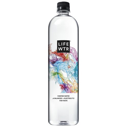 LIFEWTR is premium bottled water that fuses creativity and design to serve as a source of inspiration as well as hydration. LIFEWTR is a purified water, pH balanced with electrolytes  added for taste.