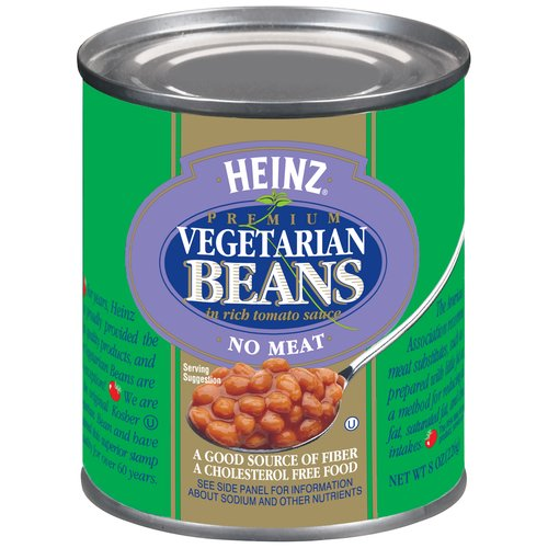 No Meat; Contains No Animal Products