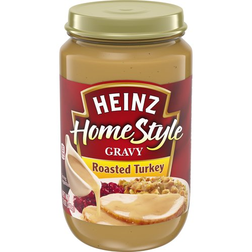 Made from real turkey stock and a light blend of spices, this gravy turns even ordinary mashed potatoes into a special treat.