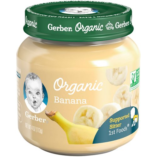 Baby's first taste of fruits and veggies is exciting for them and for you. So we make our 1stFoods baby food with great ingredients, just how you would.