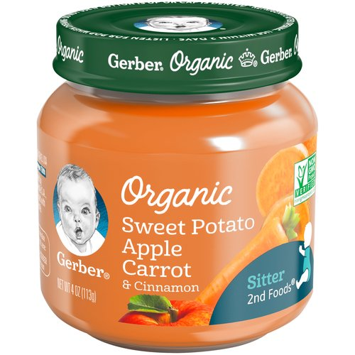 Our organic line keeps growing! Look for more organic options from the brand you've grown to trust. GERBER Organic products are USDA Certified Organic and specially designed for your child.