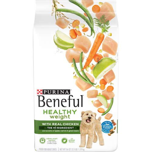 3.50 lb. Real farm-raised chicken is the #1 ingredient. Accented with real apples, carrots and green beans for wholesome goodness. 23 essential vitamins and minerals to support overall health. No added sugar.