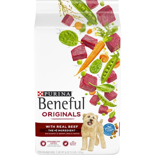 3.50 lb. Accents of real spinach, peas and carrots add variety to his diet. Antioxidant-rich nutrition to help support a healthy immune system. 23 essential vitamins and minerals support overall health.