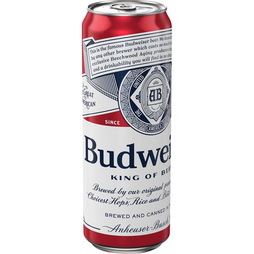 Budweiser is a medium-bodied, flavorful, crisp American-style lager. Brewed with the best barley malt and a blend of premium hop varieties, it is an iconic beer, celebrated in America.