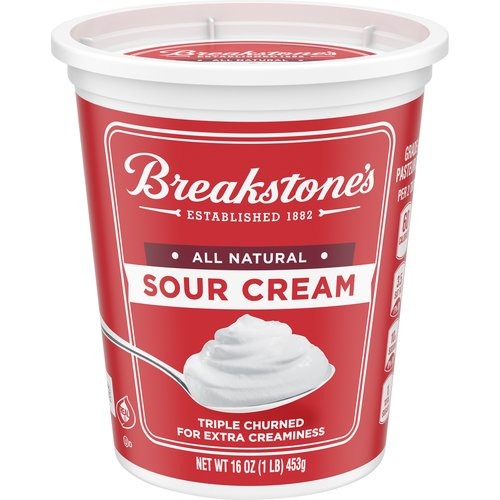 Triple Churned for Extra Creaminess