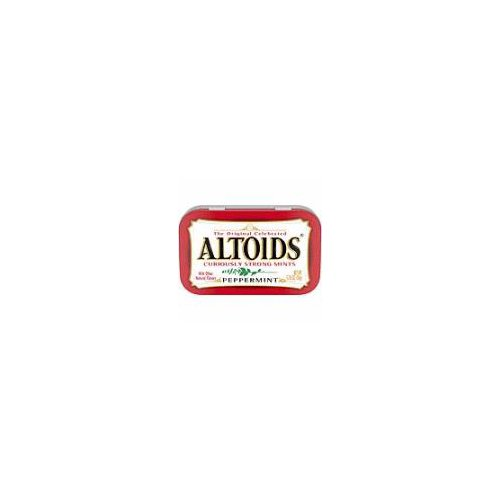 Always stay fresh and ready for what comes your way with ALTOIDS Peppermint Mints. From business meetings to first dates at your favorite watering hole, there's never a good time to have bad breath.