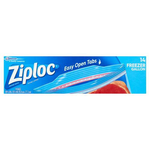 Protect your food with Ziploc brand Freezer Bags.