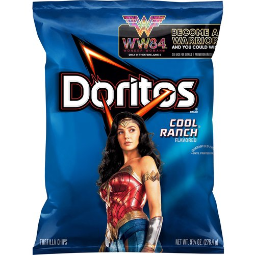 Bold zesty flavor make this a tasty cool snack. Bring a bag to your next party. Crunchy chips and boldness make Doritos snacks awesome.