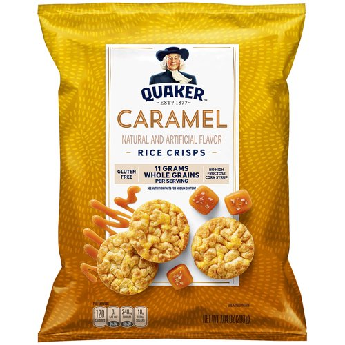60 Calories per serving (7 cakes). Naturally & artificially flavored. Fat free. 0g Trans fat.