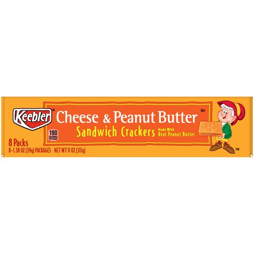 Made with real peanut butter.