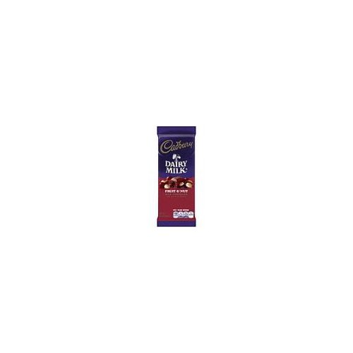Change things up with chewy raisins and chopped almonds wrapped in creamy Cadbury Milk Chocolate. Cadbury Dairy Milk Fruit & Nut Milk Chocolate Bar is an indulgent way to make the moment delicious.