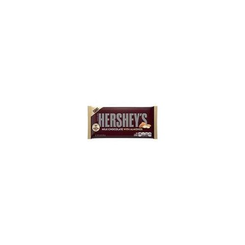 Chocolate lovers will seriously love this colossal candy bar made with creamy Hershey's Milk Chocolate and almonds. Hershey's Giant Milk Chocolate with Almonds Bar is great as a gift or just for you!
