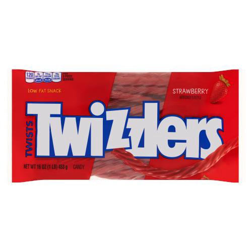 Twizzlers Strawberry Flavored Twists are a movie-theater treat worth more than the price of admission. Like watching a great story on the screen, you won't want this bag of sweets to come to an end.