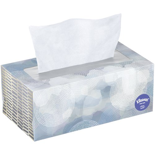 Kleenex Ultra Soft 3-Ply Tissues, 110 count