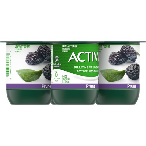Helps naturally regulate your digestive system. 4 - 4 oz cups