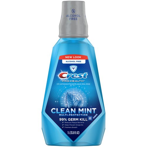 Clean mint. 24 hour protection with 2x daily use Fights plaque & gingivitis. Rinsing everyday helps prevent gingivitis. Helps you get better dental check-ups Fights plaque & gingivitis.