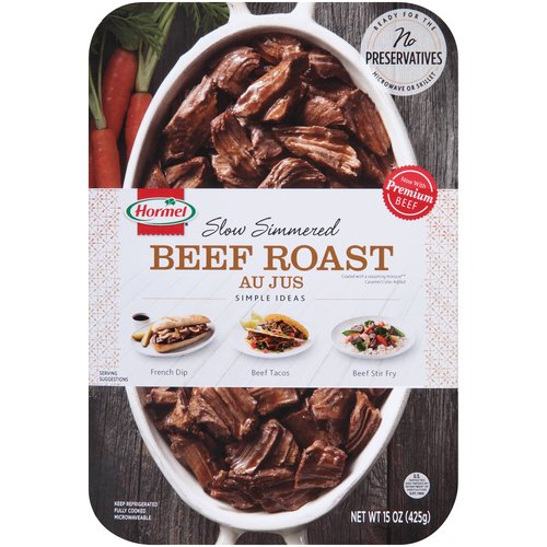 No Preservatives. Ready for the Microwave or Skillet. Microwaveable. Now with Premium Beef. 0g Trans Fat. Dairy Free. Gluten Free. Fully cooked.
