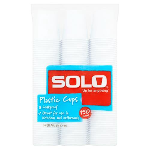 150 cups.