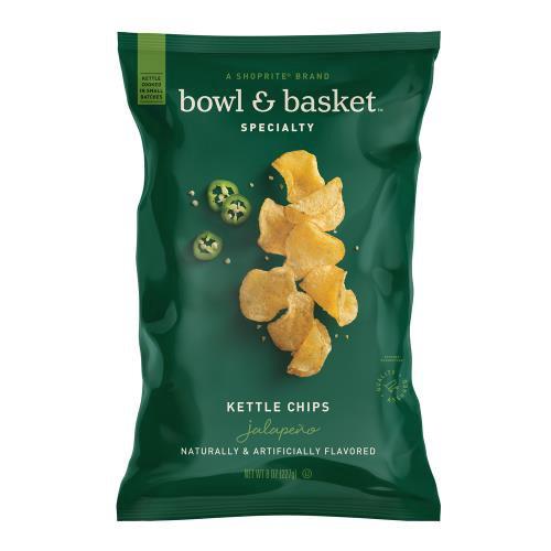 Bowl & Basket Specialty Jalapeno Kettle Chips, 8 oz