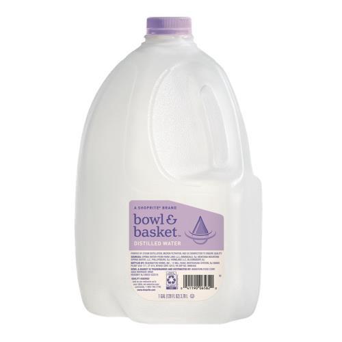 Bowl & Basket Distilled Water, 1 gal