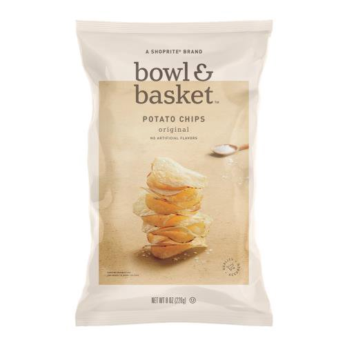 Bowl & Basket Original Potato Chips, 8 oz