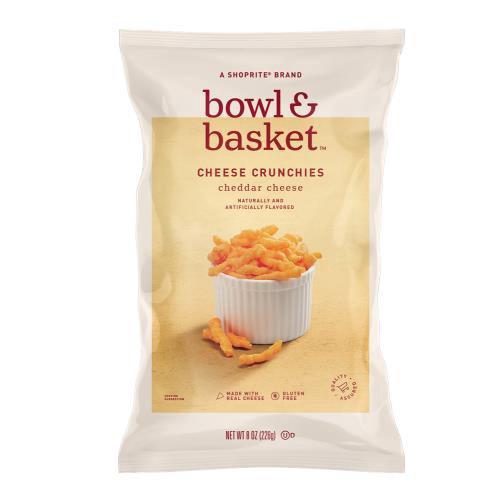 Bowl & Basket Cheddar Cheese Crunchies, 8 oz