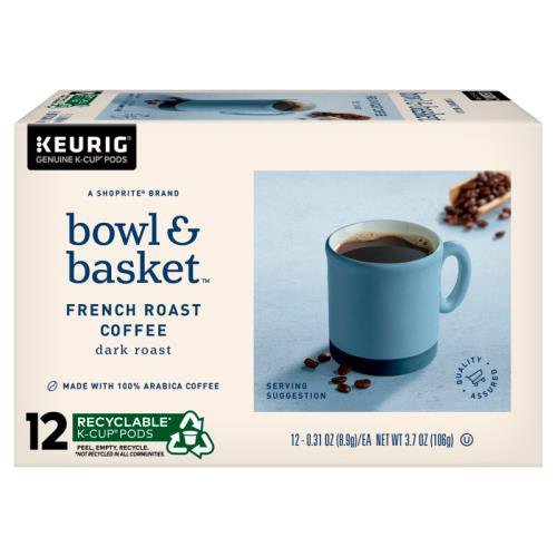 A ShopRite® brand  . A rich, great-tasting, extra bold cup of coffee. Dark roast profile, with deeper espresso-like notes. Made with 100% Arabica coffee. Food is at the heart of it all.  At Bowl & Basket, we make our food for the moments that bring us together, and make life that much better ...  Fr (3.7 oz)