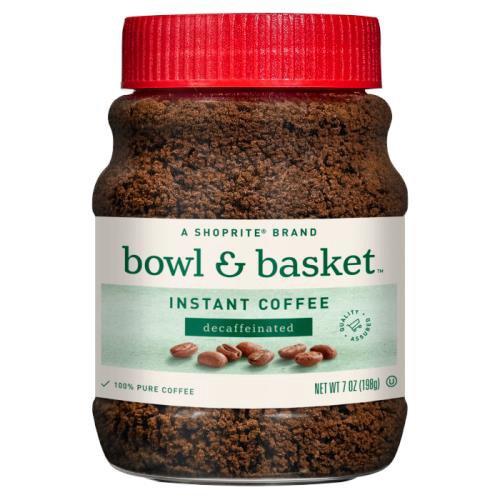 Bowl & Basket Decaffeinated Instant Coffee, 7 oz